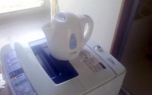 日南市で洗濯機、布団等回収写真1