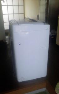 日南市で洗濯機、布団等回収写真