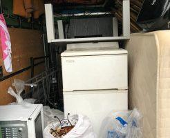 宮崎市老松で冷蔵庫など軽トラ1台分程度の不用品処分 施工事例紹介