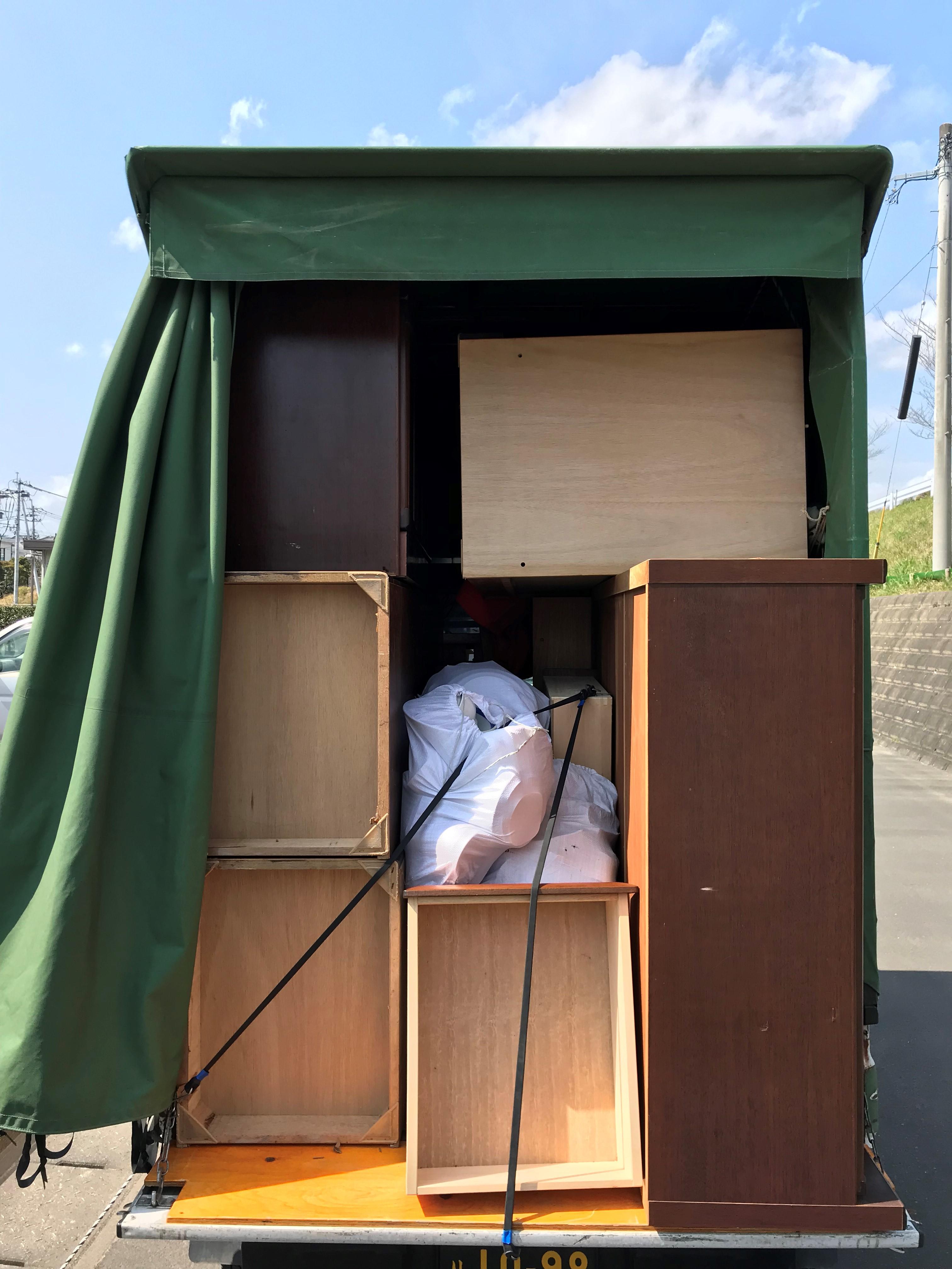 宮崎市佐土原町下田島で家財一式処分とエアコン取り外し 施工事例紹介