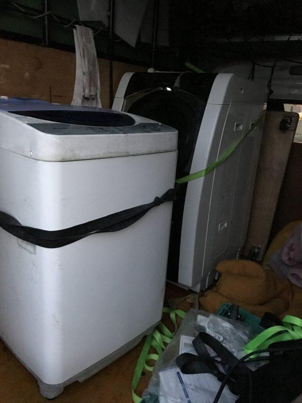 宮崎市島之内で洗濯機1台の回収 施工事例紹介