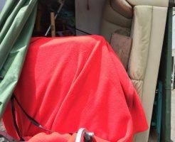 宮崎市高岡町内山で学習机、ソファー、折り畳みベッド、倉庫などの不用品回収 施工事例紹介