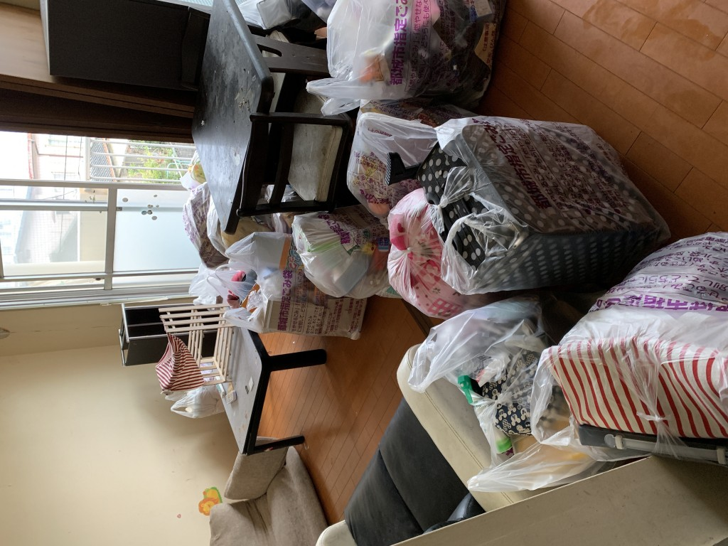 【木古内町】不用品回収とハウスクリーニング☆退去前にお部屋が片付いてお喜びいただけました!
