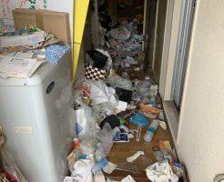 【宮崎市堀川町】2トントラック2台分の不用品回収☆大量の不用品の処分でお部屋が片付き、お客様にお喜びいただけました!