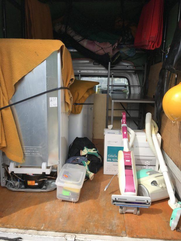 【浦幌町】お客様から引っ越しに伴う不用品回収☆素早い対応や、スタッフの丁寧な対応にご満足いただけたようです。
