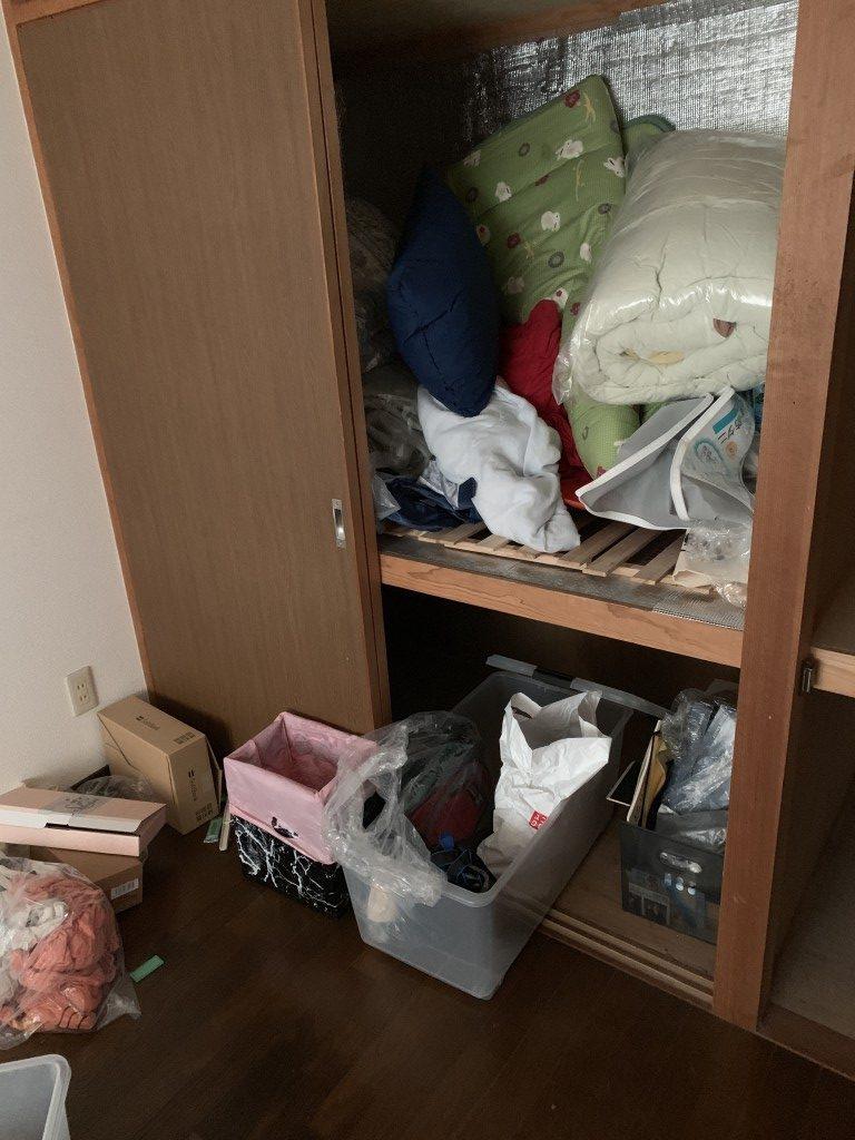 【宮崎市佐土原町】3LDKの不用品処分+簡易清掃のご依頼☆エアコン取り外しにも対応できご満足いただけました!