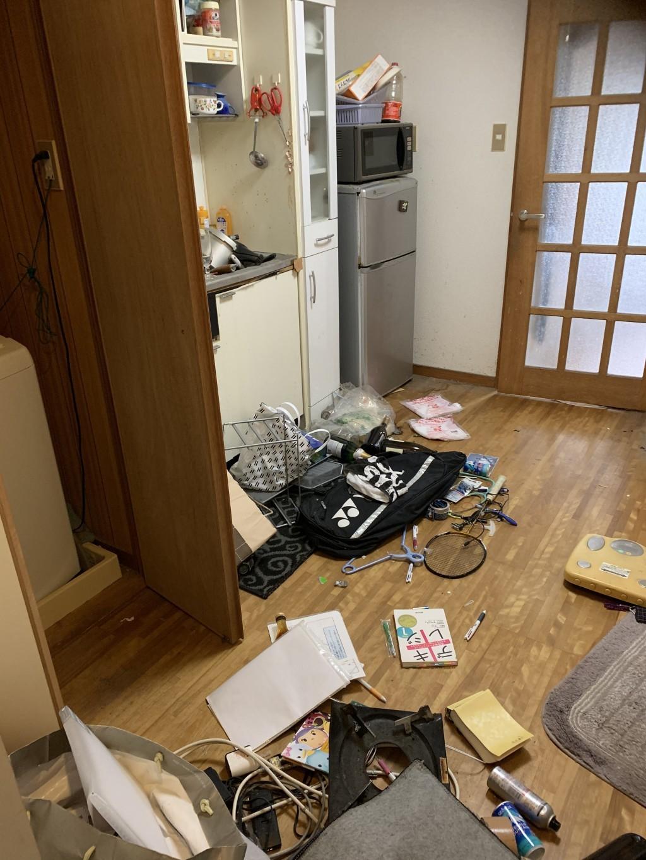 【宮崎市清武町】お部屋の家財一式回収・処分ご依頼 お客様の声