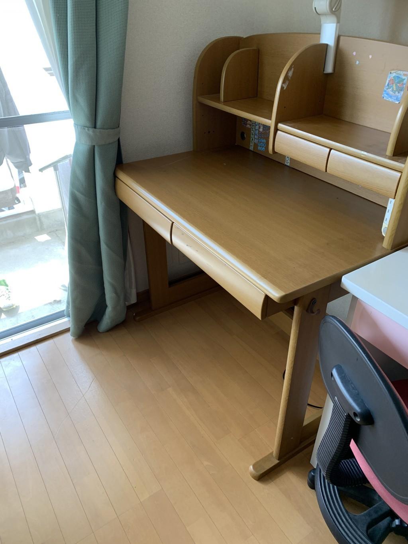 【宮崎市宮脇町】学習机の回収と移動のご依頼☆重たい不用品もスピーディに運ばせていただきました!