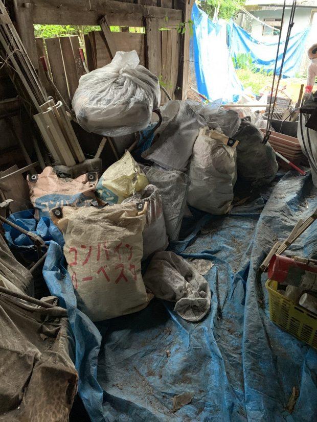 【都城市高崎町】スクーターなど納屋内の不用品回収 お客様の声