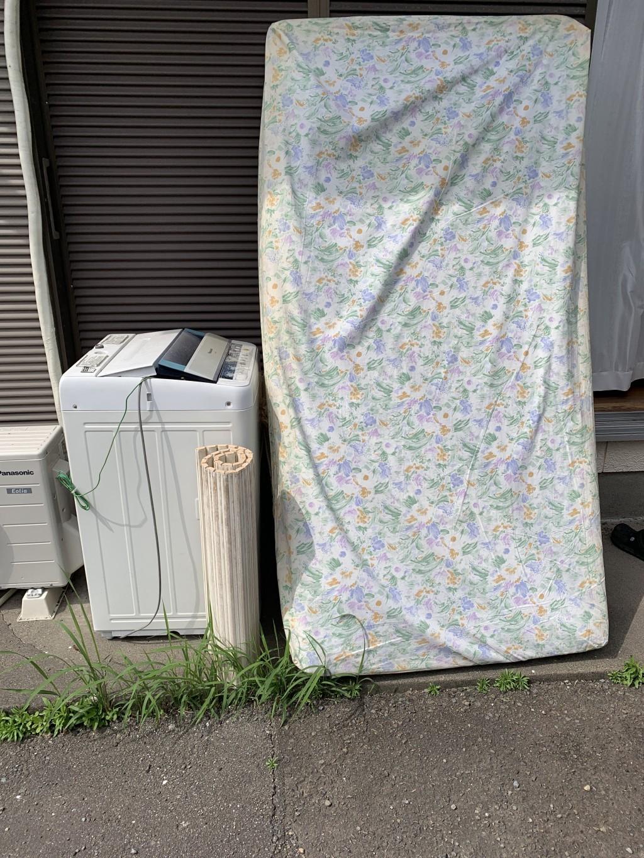 【せたな町】洗濯機やマットレスの不用品回収・処分ご依頼 お客様の声