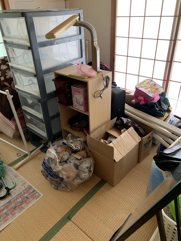 【羽幌町】テレビ、衣装ケース、絨毯など大量の出張不用品回収・処分ご依頼