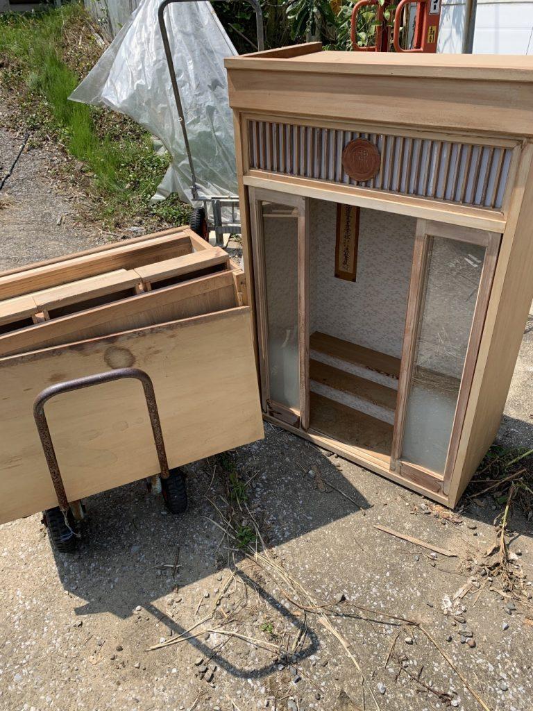【宮崎市】遺品整理に伴い仏壇の出張回収・処分ご依頼