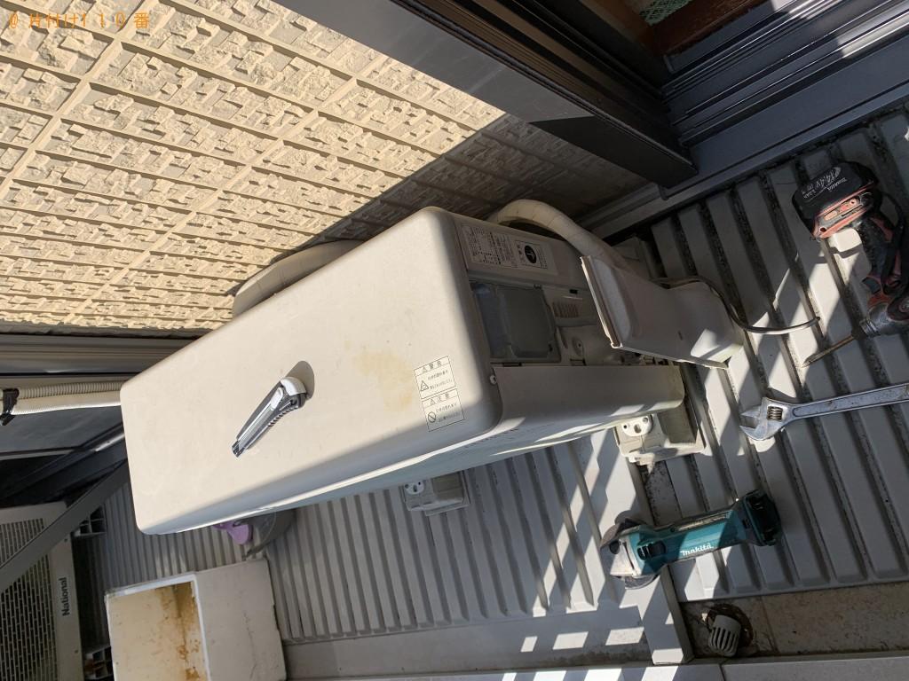 【利尻富士町】エアコンと食器棚の出張回収・処分ご依頼