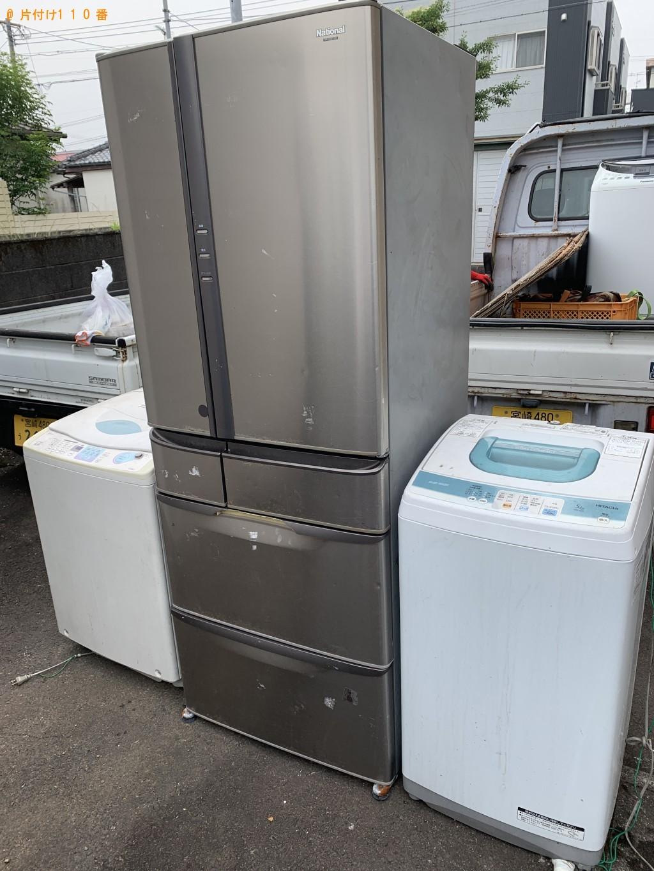 【冷蔵庫と洗濯機の処分 お客様の声