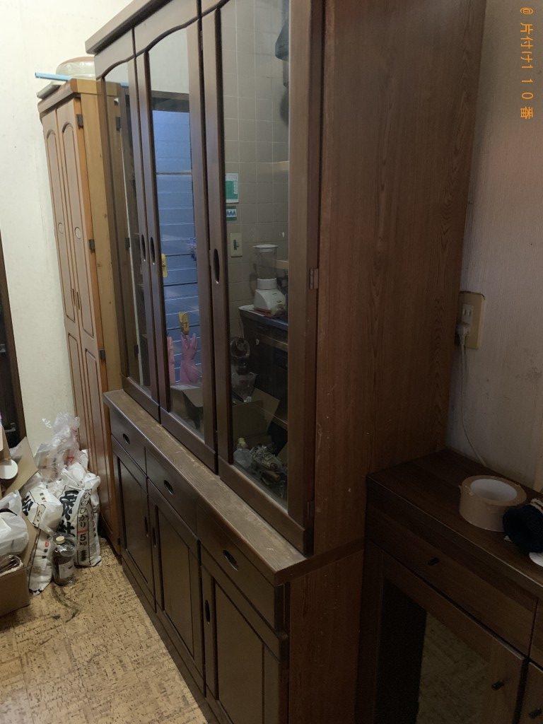 【神恵内村】本棚・食器棚の出張回収処分ご依頼 お客様の声