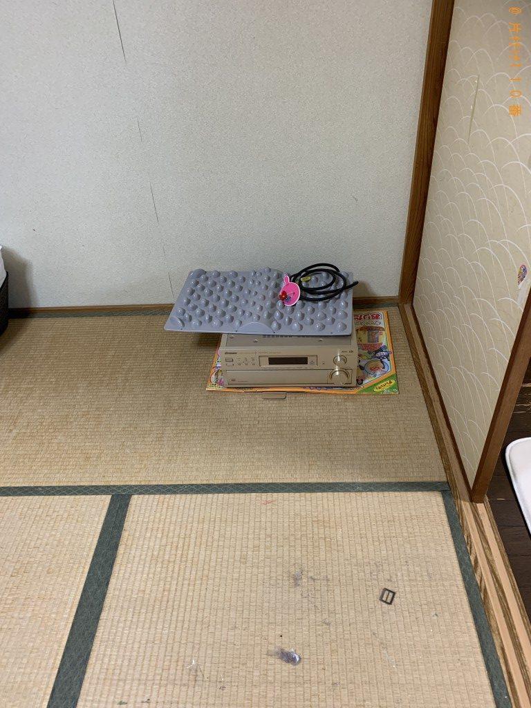 【宮崎市】マッサージチェア1台を出張処分ご依頼 お客様の声