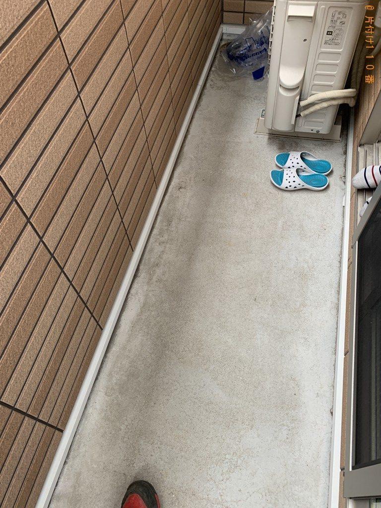 【宮崎市大塚町】セミダブルベッドフレームの回収・処分 お客様の声
