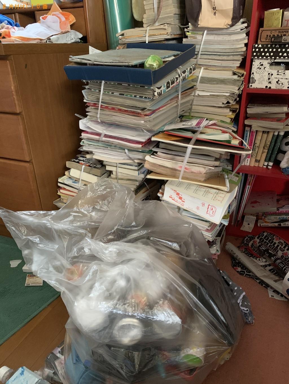 【宮崎市田野町】学習机、衣類、雑誌の処分 お客様の声