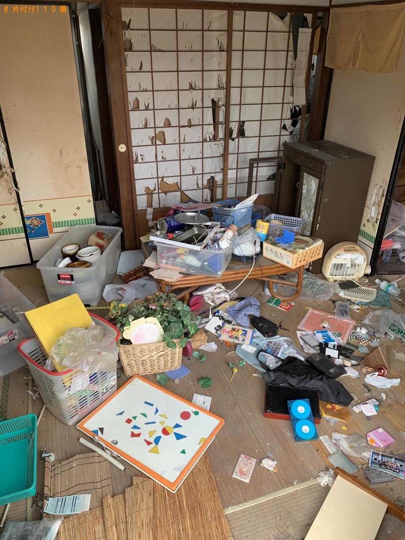 【北諸県郡三股町】軽トラ5台分の出張不用品回収・処分ご依頼