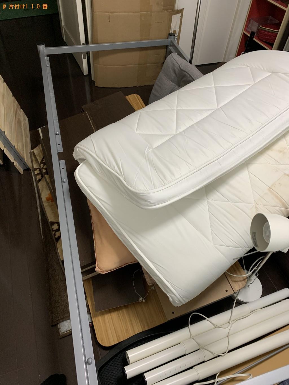【宮崎市清武町】ダイニングテーブル、シングルベッド、座椅子等の回収・処分 お客様の声