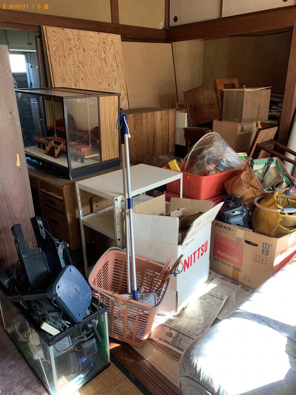 【宮崎市】冷蔵庫、洗濯機、食器棚等の回収・処分 お客様の声