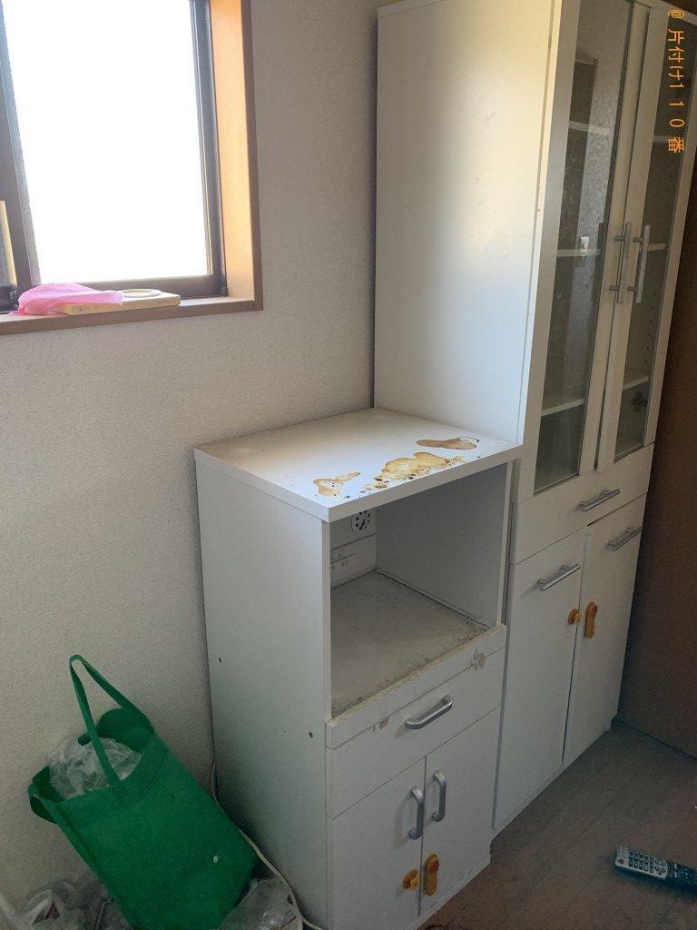 【宮崎市】冷蔵庫、食器棚、レンジ台の回収・処分ご依頼 お客様の声