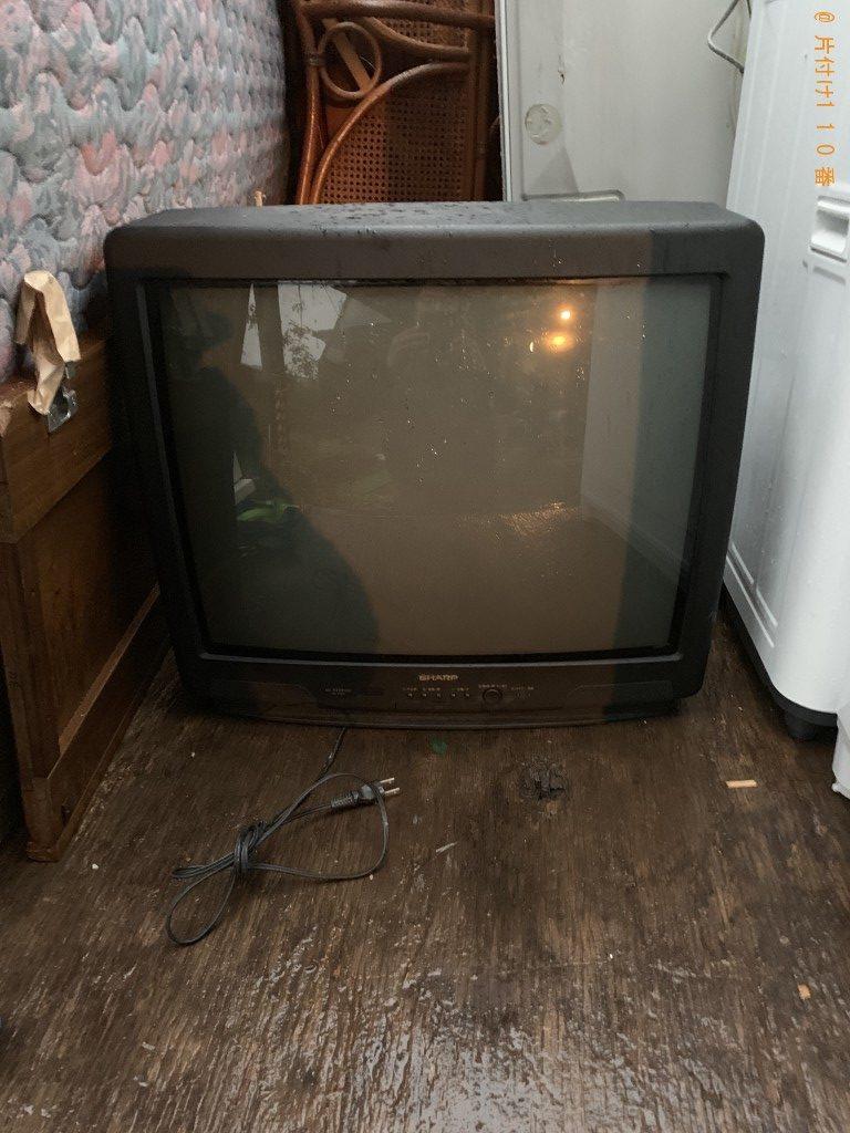 【都城市山田町】テレビ3台の回収・処分ご依頼 お客様の声