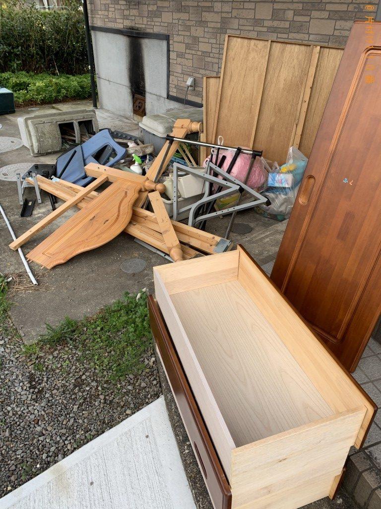 【北諸県郡三股町】2tトラック1台程度の出張不用品の回収・処分
