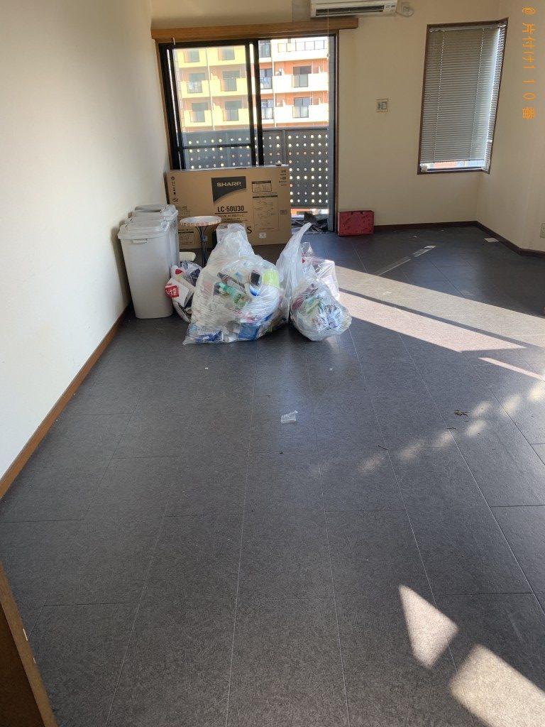 【宮崎市】ローテーブル、食器棚、シングルベッド等の回収・処分