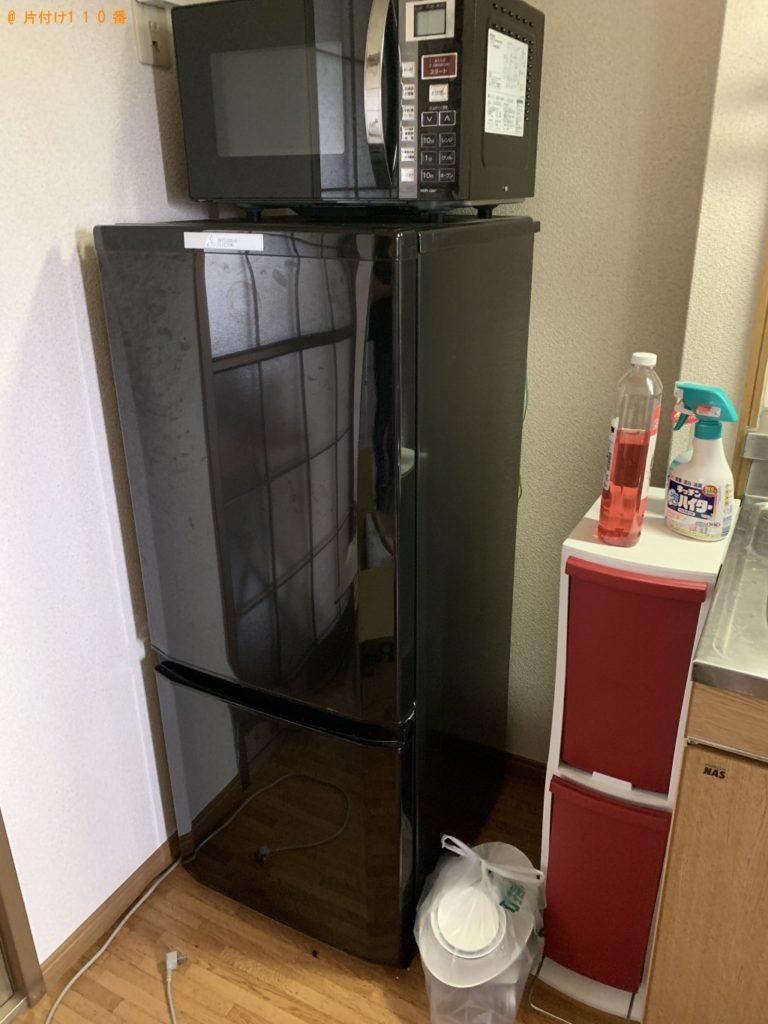 【岡谷市】冷蔵庫、電子レンジ、ベッド等の回収・処分ご依頼