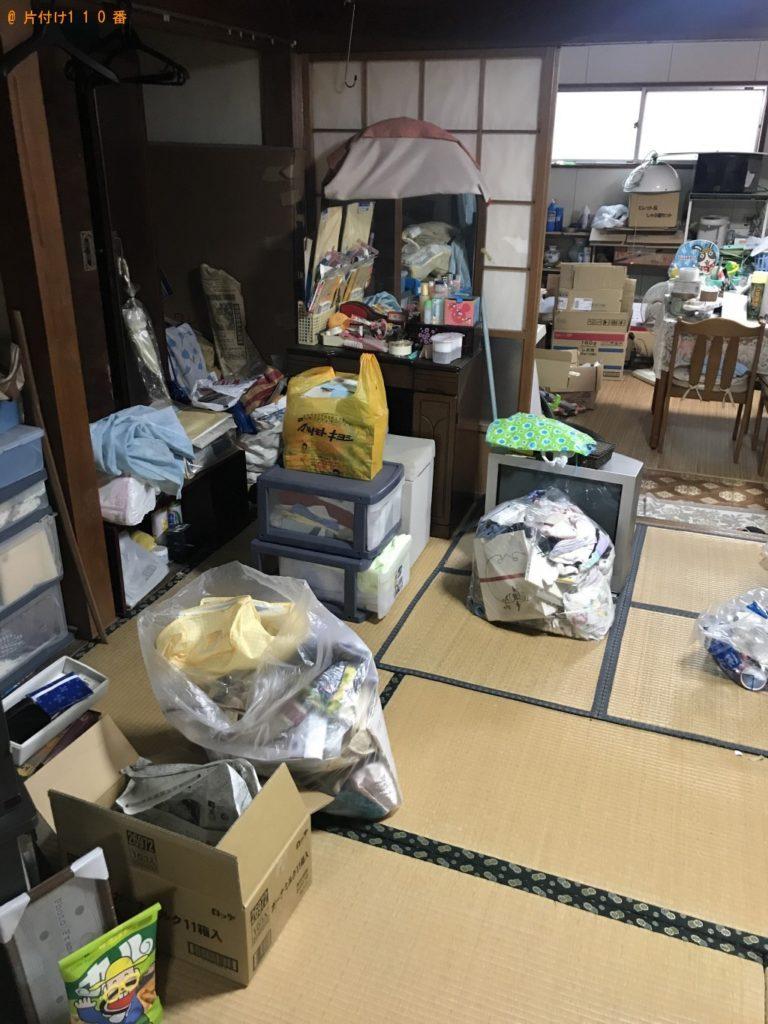 【玉名市】遺品整理に伴いタンス、衣類、陶器等の回収・処分ご依頼 お客様の声