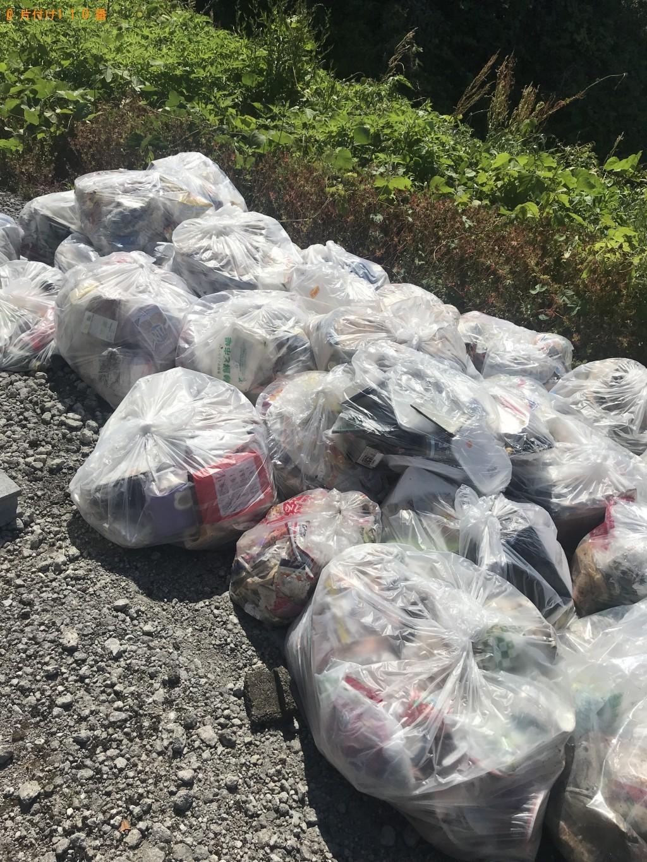 【宮崎市】2tトラック1台分の混在ゴミの回収・処分 お客様の声