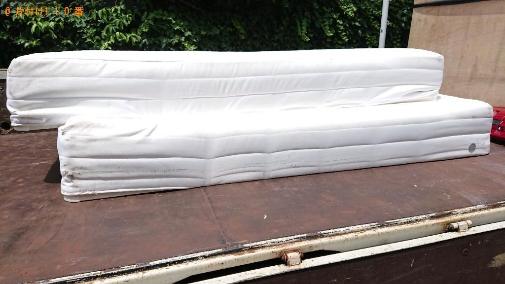 【宮崎市】シングルベッド、セミダブルベッドの回収・処分ご依頼