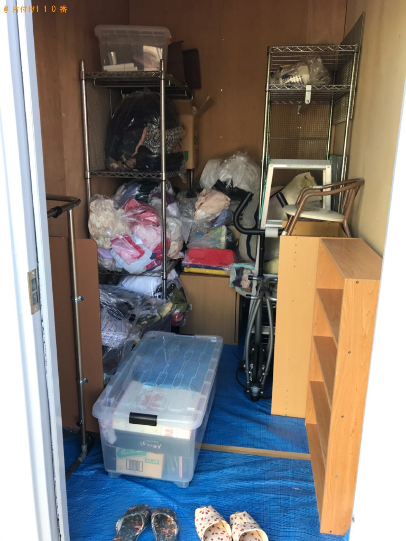 【宮崎市吾妻町】衣装ケース、カラーボックス、メタルラック等の回収