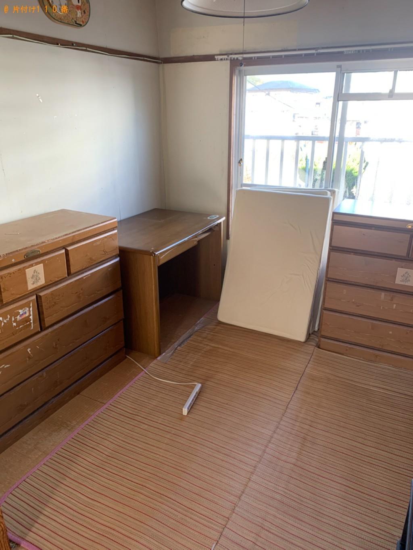 【宮崎市平和が丘西町】スタンドミラー、本棚、タンス等の回収・処分