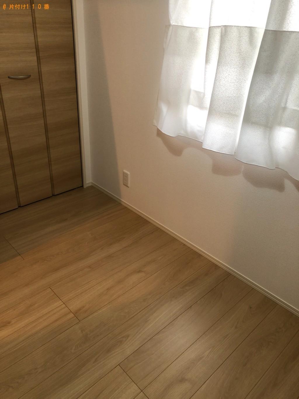 【宮崎市】マットレス付きシングルベッドの回収・処分ご依頼