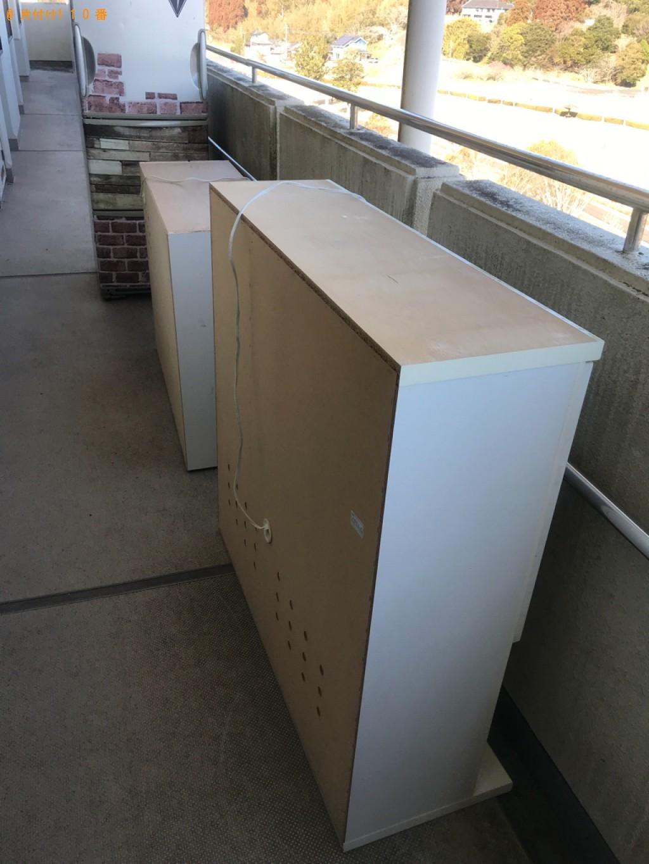 【宮崎市】冷蔵庫、食器棚、テレビ台の回収・処分ご依頼 お客様の声