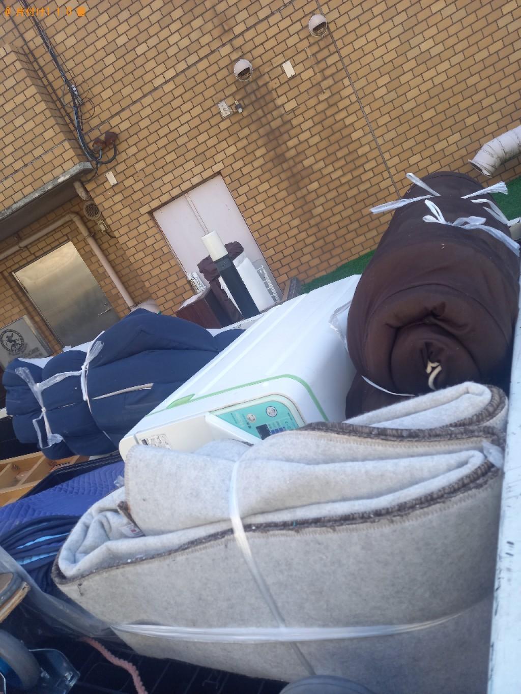 【宮崎市】洗濯機、カーペット、ウレタンマットレスの回収・処分