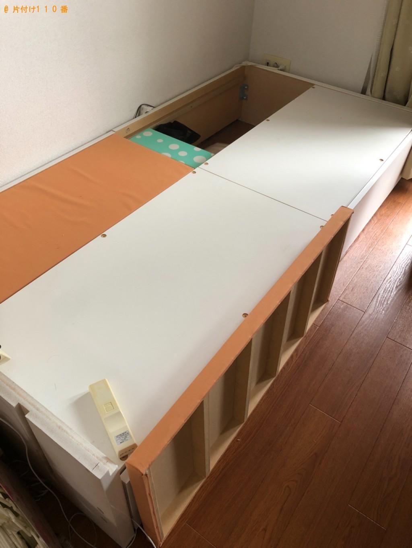 【宮崎市】本棚、マットレス付きシングルベッド等の回収・処分ご依頼