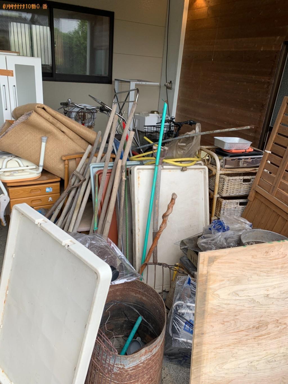 【宮崎市村角町】椅子、ハンガーラック、スタンドミラー等の回収