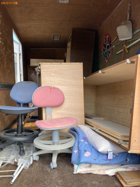 二段ベッド、セミダブルベッド、学習机、婚礼ダンス等の回収・処分