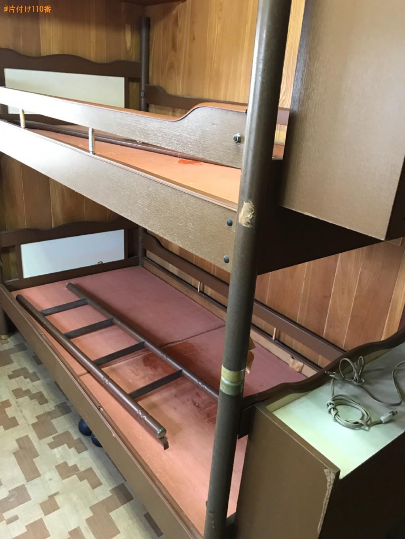 【宮崎市】食器棚、クローゼット、タンス、二段ベッド等の回収・処分